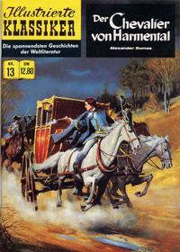 Cover Thumbnail for Illustrierte Klassiker [Classics Illustrated] (Norbert Hethke Verlag, 1991 series) #13 - Der Chevalier von Harmental