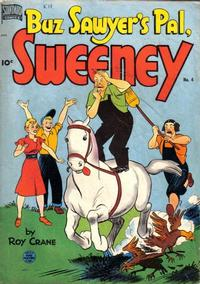 Cover Thumbnail for Buz Sawyer's Pal, Sweeney (Pines, 1949 series) #4