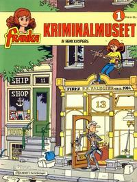 Cover Thumbnail for Franka (Hjemmet / Egmont, 1986 series) #1 - Kriminalmuseet