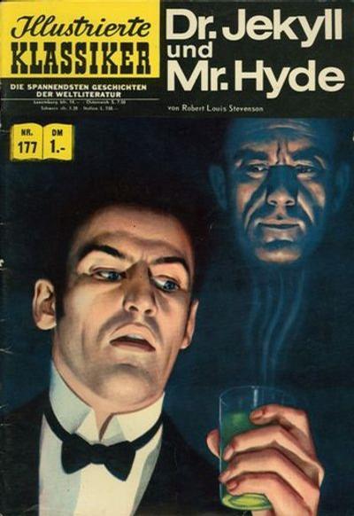 Cover for Illustrierte Klassiker [Classics Illustrated] (BSV - Williams, 1956 series) #177 - Dr. Jekyll und Mr. Hyde