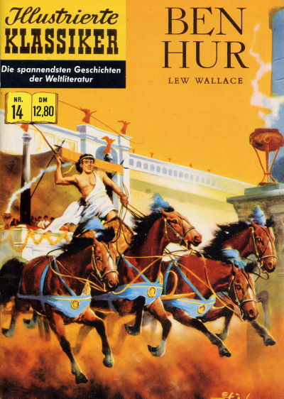 Cover for Illustrierte Klassiker [Classics Illustrated] (Norbert Hethke Verlag, 1991 series) #14 - Ben Hur