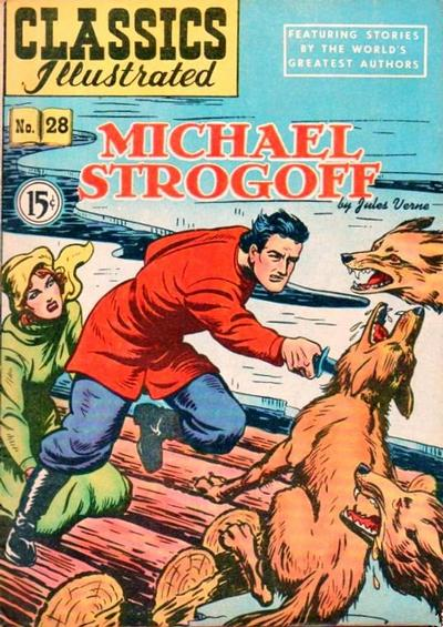 Cover for Classics Illustrated (Gilberton, 1948 series) #28
