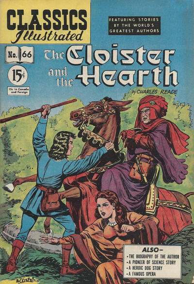 Cover for Classics Illustrated (Gilberton, 1948 series) #66