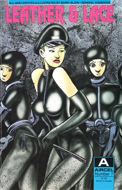 Cover for Leather & Lace (Malibu, 1989 series) #7 [General Audiences]