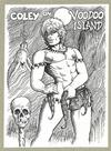 Cover for Coley (John Blackburn, 1989 series) #[1] - Coley on Voodoo Island