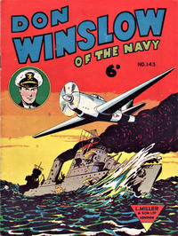 Cover Thumbnail for Don Winslow of the Navy (L. Miller & Son, 1952 series) #143