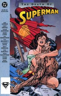 Cover Thumbnail for The Death of Superman (DC, 1993 series)  [First Printing]