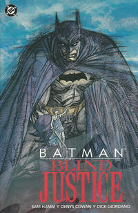 Cover Thumbnail for Batman: Blind Justice (DC, 1992 series) #[First Printing]