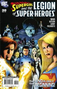 Cover for Supergirl and the Legion of Super-Heroes (DC, 2006 series) #30