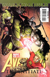 Cover Thumbnail for Avengers: The Initiative (Marvel, 2007 series) #4
