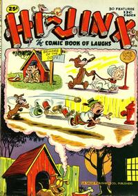Cover Thumbnail for Hi-Jinx (American Comics Group, 1945 series)