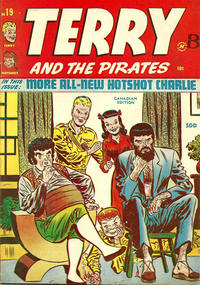 Cover Thumbnail for Terry and The Pirates (Super Publishing, 1948 series) #19