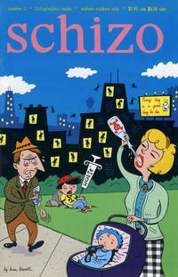 Cover Thumbnail for Schizo (Fantagraphics, 1995 series) #2