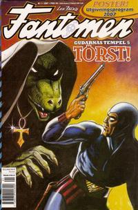 Cover Thumbnail for Fantomen (Egmont, 1997 series) #1/2007