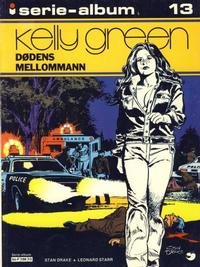 Cover Thumbnail for Serie-album (Semic, 1982 series) #13 - Kelly Green Dødens mellommann