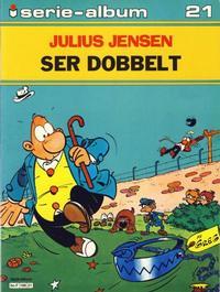 Cover Thumbnail for Serie-album (Semic, 1982 series) #21 - Julius Jensen ser dobbelt
