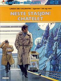 Cover Thumbnail for Serie-album (Semic, 1982 series) #23 - Linda og Valentin - Neste stasjon: Châtelet
