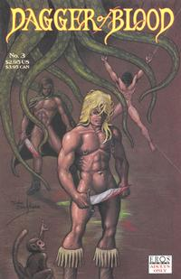 Cover Thumbnail for Dagger of Blood (Fantagraphics, 1997 series) #3
