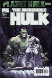 Cover Thumbnail for Incredible Hulk (Marvel, 2000 series) #103 [Direct Edition]