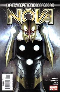 Cover Thumbnail for Nova (Marvel, 2007 series) #1
