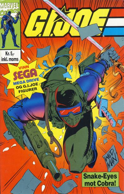 Cover for G.I. Joe (Semic, 1993 series)