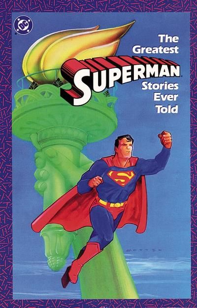 Cover for The Greatest Superman Stories Ever Told (DC, 1987 series) #1