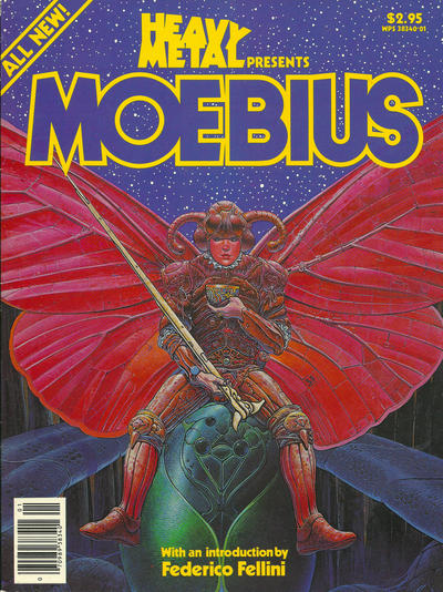 Cover for Heavy Metal Special Editions (Heavy Metal, 1981 series) #[1] - Moebius