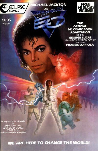 Cover for Captain EO 3-D Special Souvenir Edition (Eclipse, 1987 series) #[nn]