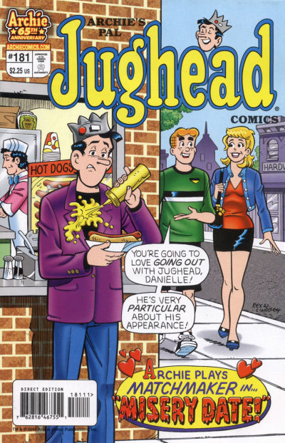 Cover for Archie's Pal Jughead Comics (Archie, 1993 series) #181