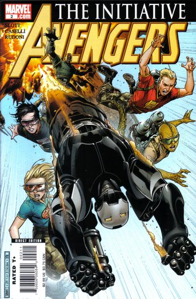 Cover for Avengers: The Initiative (Marvel, 2007 series) #2