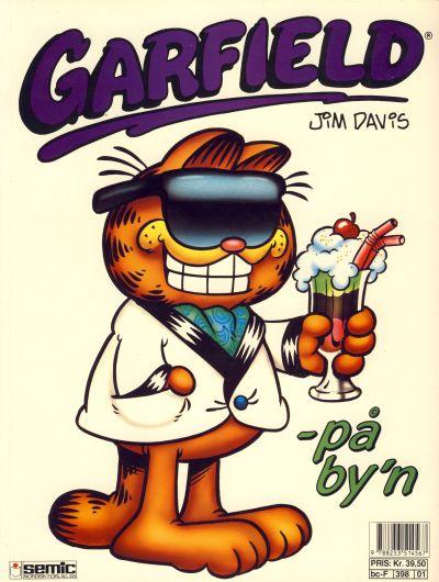 Cover for Garfield album (Semic, 1992 series) #[01]