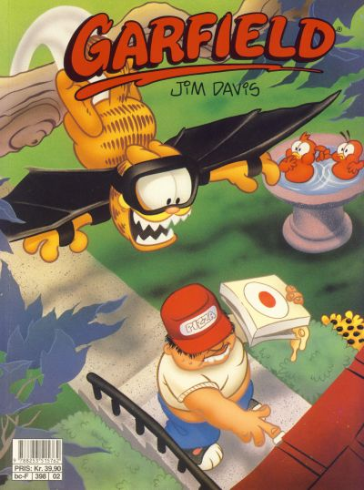 Cover for Garfield album (Semic, 1992 series) #[02]