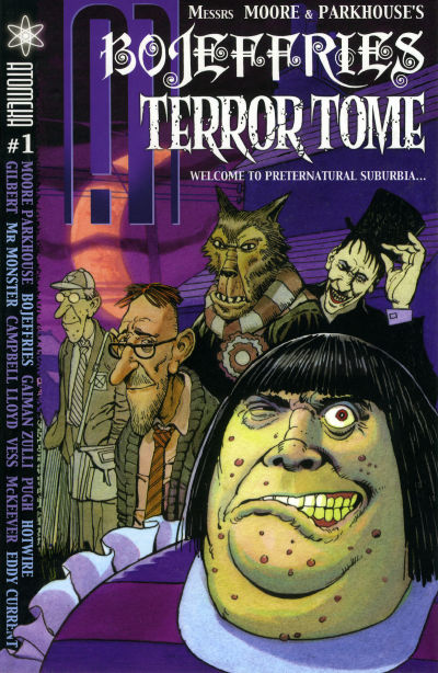 Cover for A1 Bojeffries Terror Tome (Atomeka Press, 2005 series) #1