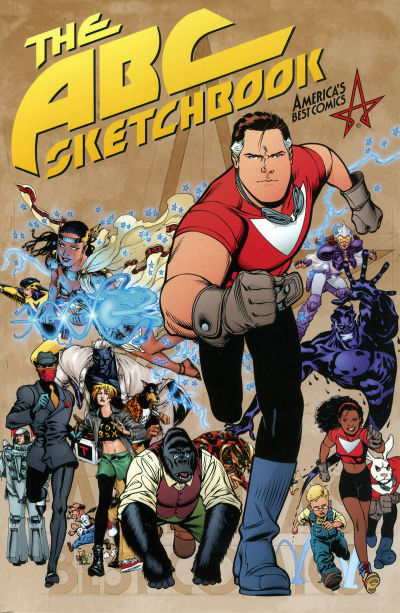 Cover for America's Best Comics Sketchbook (DC, 2002 series)