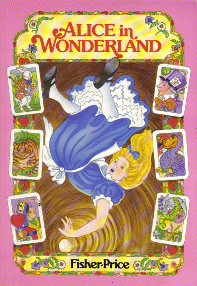"Cover for ""Marvel Classics Comics"" Featuring Alice in Wonderland (Marvel, 1984 series)"