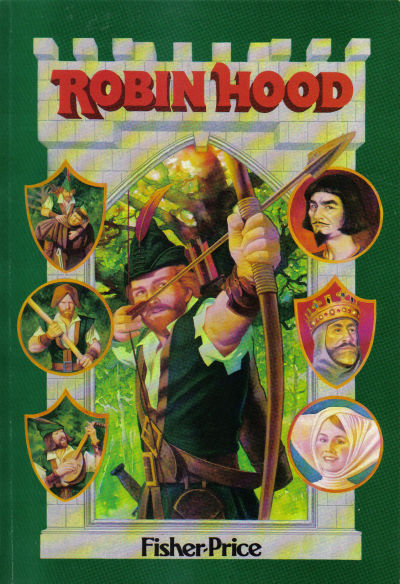 "Cover for ""Marvel Classics Comics"" featuring Robin Hood (Marvel, 1984 series) #[nn]"