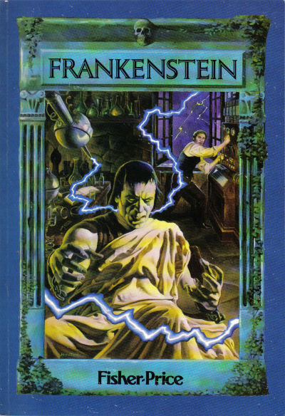 "Cover for ""Marvel Classics Comics"" featuring Frankenstein (Marvel, 1984 series) #[nn]"