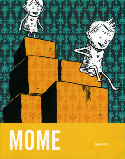 Cover for Mome (Fantagraphics, 2005 series) #[6] Winter 2007