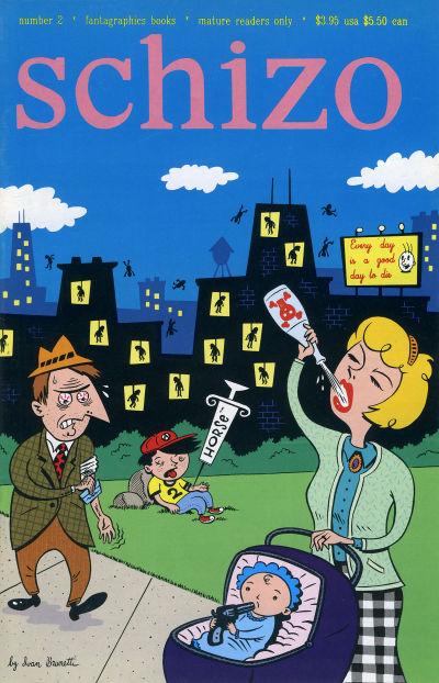 Cover for Schizo (Fantagraphics, 1995 series) #2
