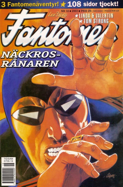 Cover for Fantomen (Egmont, 1997 series) #18/2003