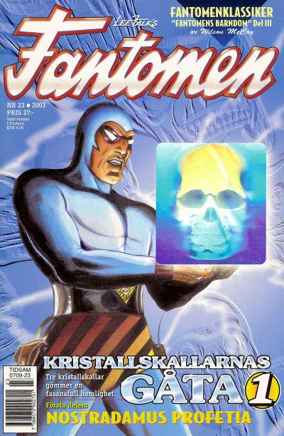 Cover for Fantomen (Egmont, 1997 series) #23/2003