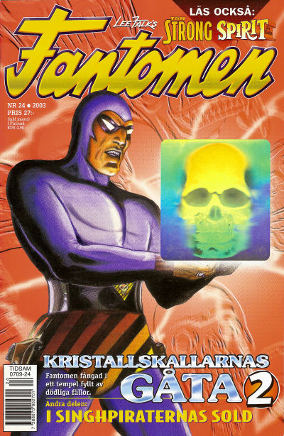 Cover for Fantomen (Egmont, 1997 series) #24/2003