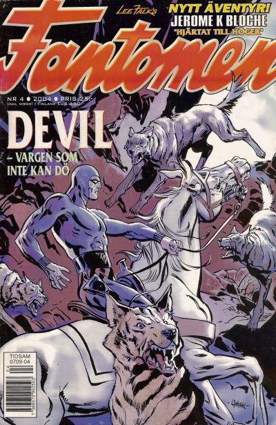 Cover for Fantomen (Egmont, 1997 series) #4/2004