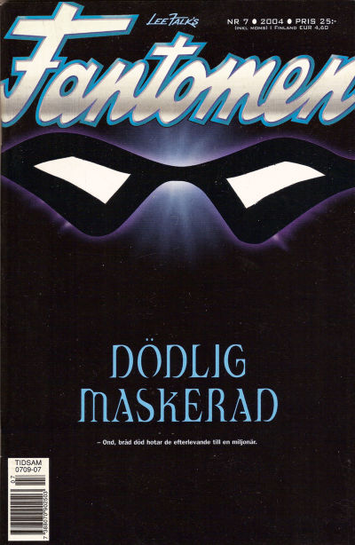Cover for Fantomen (Egmont, 1997 series) #7/2004