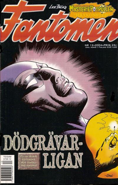 Cover for Fantomen (Egmont, 1997 series) #12/2004