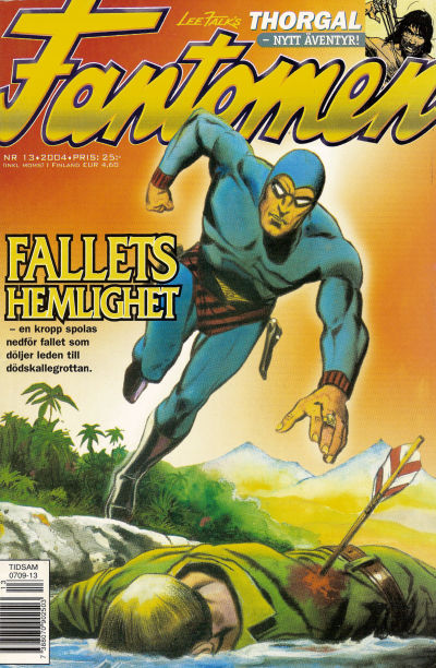 Cover for Fantomen (Egmont, 1997 series) #13/2004