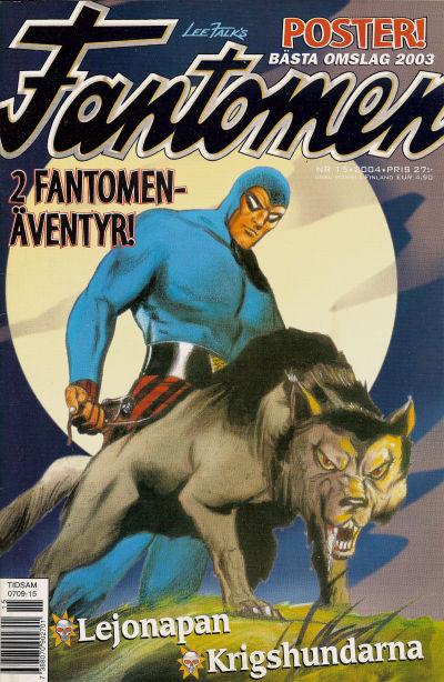 Cover for Fantomen (Egmont, 1997 series) #15/2004