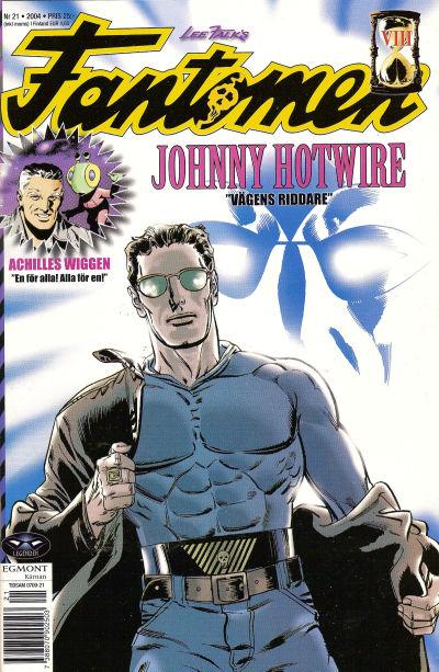 Cover for Fantomen (Egmont, 1997 series) #21/2004