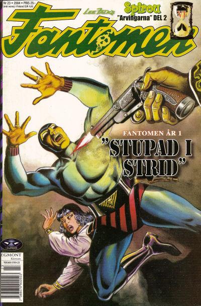Cover for Fantomen (Egmont, 1997 series) #23/2004