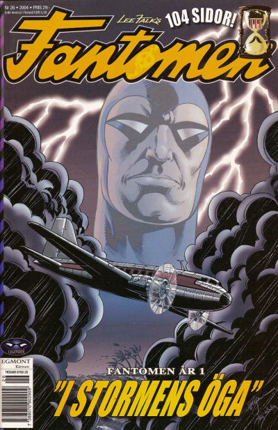 Cover for Fantomen (Egmont, 1997 series) #26/2004